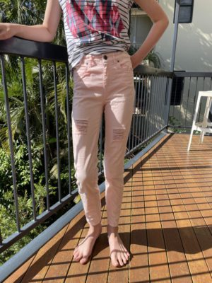 Girls Size 10 Pink Jeans