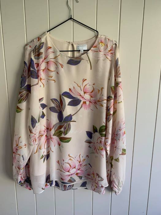 24. Witchery Blouse Long-Sleeve