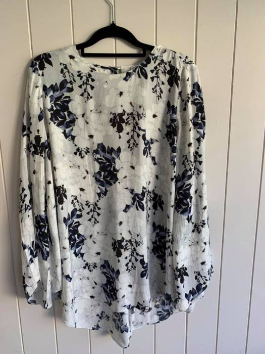 38. Witchery Floral Blouse