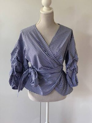 15.Seed Gingham Blouse