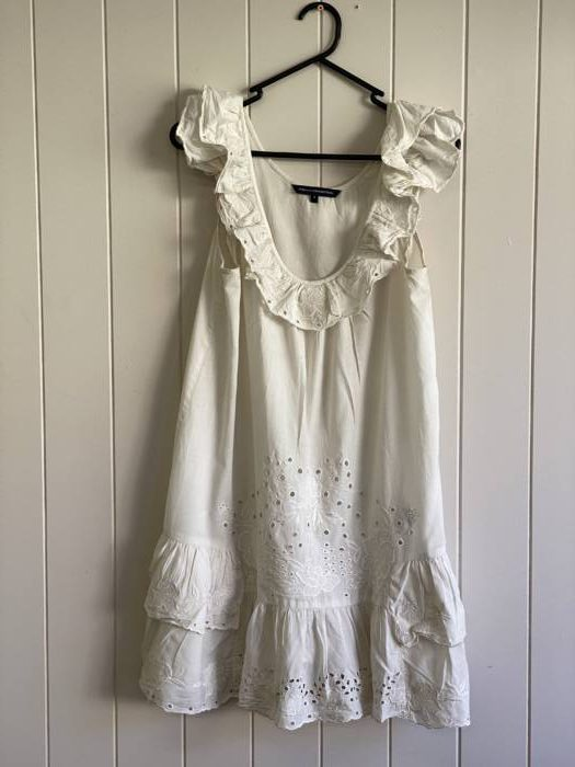 62. French Connection Cotton Beach Dress