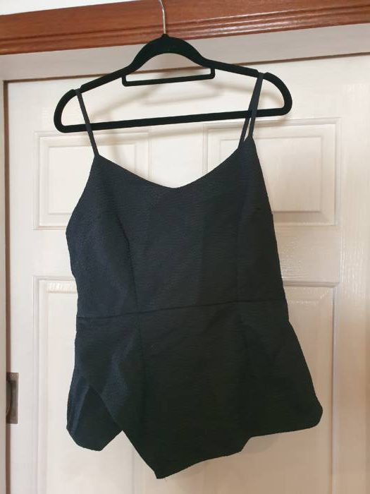 Silver Wishes Zipped Back Singlet