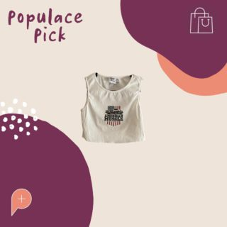 """Have you seen this American muscle car top in the wardrobe yet!? Such a cute """"cropped tank"""", available to buy in a size 6 😍.  #PopulaceThreads #PopulacePick #Resale #Sustainability #Brisbane #SecondHand #ResaleIsTheNewRetail #FashionForward #ShopSwapSell #ResaleTherapy"""