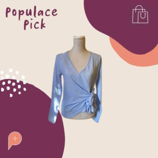 Don't walk... RUN! This 'blue blouse' won't be available in the wardrobe for long. We are obsessing over the colour and wrap detail 😍 Head to the Populace Threads website to purchase this stunning size 10 top.  #PopulaceThreads #PopulaceWardrobe #OneStopShop #ResaleTherapy #ShopSwapSell #Sustainability #ProtectThePlanet #CircularFashion #Australia #Upcycle #OOTD #StyleReels #FashionReels #ootdreels #discoverunder20k #mystyle #SecondHandSeptember