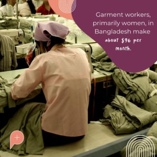 This is nowhere near enough to sustain a decent life with basic facilities. The government's wage board suggested that a garment worker needs 3.5 times that amount. Factories need to start rethinking their supply chain costs! There are so many unnecessary expenses that go into a garments sale that could be better spent by giving back to those who actually manufacture the item.   #PopulaceThreads #LaunchDay #ResaleisthenewRetail #ResaleTherapy #OneStopShop #ShopSwapSell #ResaleTherapy #PopulaceWardrobe #CircularEconomy #Sustainable #FashionForward #WardrobeFinds #whomademyclothes