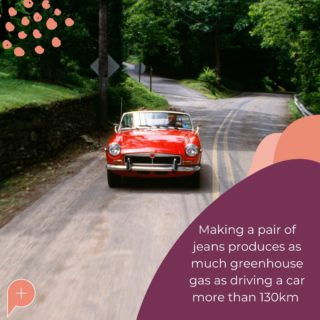 That is just one pair of jeans - imagine how much greenhouse gas is created through mass-production! We can cut this number down by choosing to buy second-hand jeans. Not only are they stylish and have character, but they help to lower the total production of new jeans.   Your purchases make a difference! Let's make resale the new retail 😍  #PopulaceThreads #ShopSwapSell #WinterWardrobe #SummerWardrobe #StyleTips #OOTD #OutfitOfTheDay #Resaleisthenewretail #OOTW #DailyFashion #lookoftheday #feedaesthetic #winteraccessories #discoverunder20k #Discoverunder10k #Smallbusiness #styleinspo