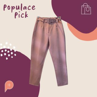 """We are reintroducing the Populace Pick of the week 🤩. Here, you will be able to see which items are currently in the wardrobe and whether they are available to buy or swap.   This week, we've put the spotlight on these gorgeous pink trousers! Available for sale in the wardrobe, you won't want to miss out on these size 8 """"high waisted, ankle grazer pants"""".  #PopulaceThreads #PopulacePick #Resale #Sustainability #Brisbane #SecondHand #ResaleIsTheNewRetail #FashionForward #ShopSwapSell #ResaleTherapy"""