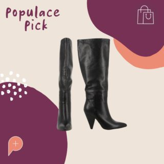 """These boots are made for walking, and that's just what they'll do. Don't miss out on your chance to get your hands on these staple boots. Available to buy in the wardrobe, these size 7 """"Django & Juliette Astley Boots"""" are perfect for winter ❄️  #PopulaceThreads #ShopSwapSell #WinterWardrobe #SummerWardrobe #StyleTips #OOTD #OutfitOfTheDay #Resaleisthenewretail #OOTW #DailyFashion #lookoftheday #feedaesthetic #winteraccessories #discoverunder20k #Discoverunder10k #Smallbusiness #styleinspo"""