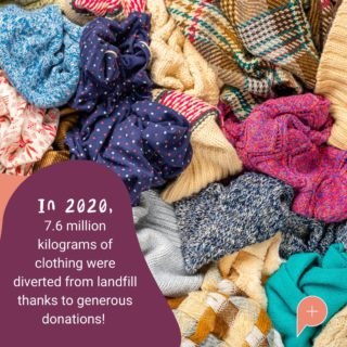 This just goes to show what an impact resale can have on the environment! No matter how big your contribution, together we can make a difference ❤️   Source: @Lifelineshopsqld  #PopulaceThreads #OneStopShop #ShopSwapSell #ResaleTherapy #ResaleisthenewRetail #SustainableShopping #CircularEconomy #FashionForward  #SecondHand #Fashion #FashionFacts