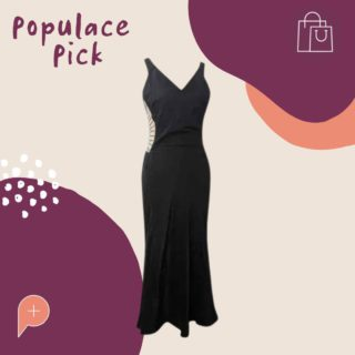 """Did someone say Gucci... Check out this gorgeous size 10 """"Gucci dress"""" available in the Populace Threads wardrobe 😍 The back details are to die for!  #PopulaceThreads #ShopSwapSell #WinterWardrobe #SummerWardrobe #StyleTips #OOTD #OutfitOfTheDay #Resaleisthenewretail #OOTW #DailyFashion #lookoftheday #feedaesthetic #winteraccessories #discoverunder20k #Discoverunder10k #Smallbusiness #styleinspo"""